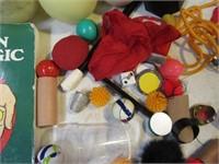 Lot Juggling~Magic Kit Setup BoxFull Extras