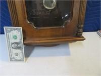 "HowardMiller 26"" Wooden Wall Clock TickTockShop"
