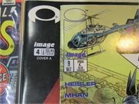 Lot (10) Comic Books asst