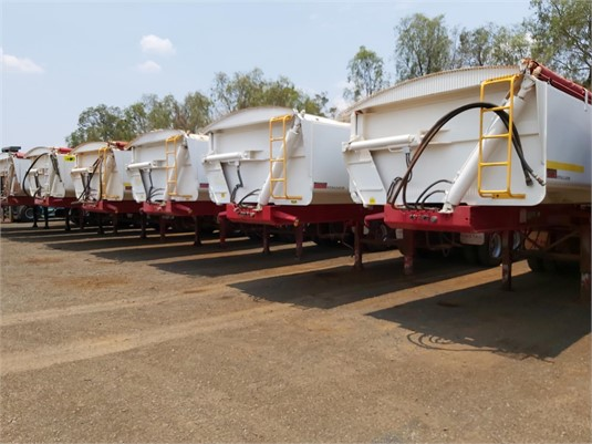 2005 Tristar Tipper Trailer - Trailers for Sale