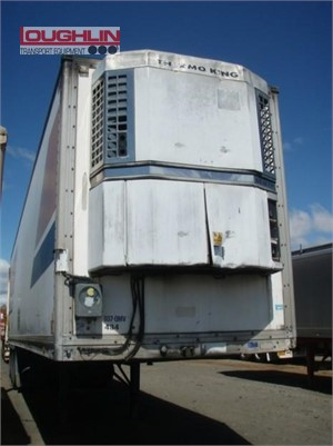 1994 Lucar Refrigerated Trailer Loughlin Bros Transport Equipment - Trailers for Sale