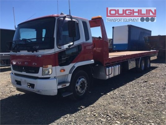 2013 Mitsubishi Fighter FN64F Loughlin Bros Transport Equipment - Trucks for Sale