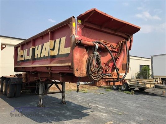 1991 White Transport Equipment Tipper Trailer - Trailers for Sale