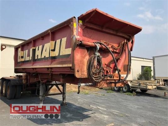 1991 White Transport Equipment Tipper Trailer Loughlin Bros Transport Equipment - Trailers for Sale
