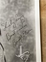 Personalized Autographed Buddy Ebson Photo