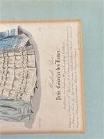 """""""Petit Courrier Des Dames"""" Titled Art"""