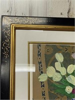 Singed and Numbered Framed and Matted