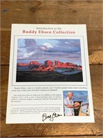 Autogrphed Buddy Ebsen Advertising