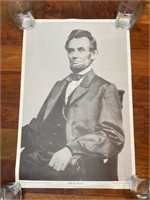 Abraham Lincoln Poster of Photograph