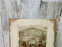 Antique Photo on Board