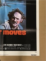 1975 Night Moves Limited 75/58 Movie Poster