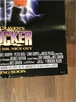 1989 Shocker Movie Poster Printed in USA