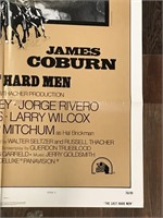 1976 Limited The Last Hard Men Movie Poster