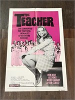 1974 Limited The Teacher Movie Poster