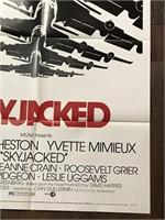 1972 Limited Skyjack Movie Poster