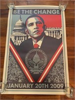 """Be The Change January 20th, 2009"""