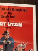 1966 Fort Utah Limited Movie Poster