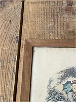 """La Mode Illustree"" Leroy imp. Paris Framed"