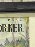 Framed The New Yorker April 19, 1952