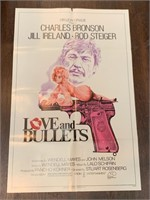 1979 Love and Bullets Movie Poster