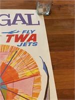 Portugal Fly TWA Jets by David Klein