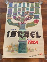 """Israel Fly TWA Never Again"" by David Klein"
