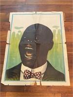 Vintage Black Americana Poster