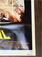 1980 Fear No Evil Movie Poster