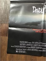 1986 Deadly Friend Movie Poster