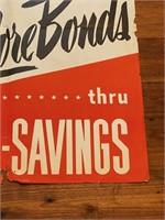 """Buy More Bonds"" War Propaganda Poster"