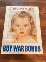 "1944 ""To Have and To Hold Buy War"
