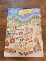 """""""The Great Circus Parade"""" Poster"""