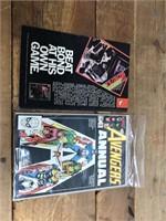 3 Marvel Avenger Comic Books