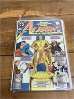 Selection Of DC Action Comics Comic Books