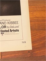 "1971 ""Valdez is Coming"" United Artist"