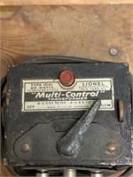 Vintage Lionel Multi-Control Transformer