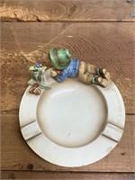 MJ Hummel Ceramic Ash Tray