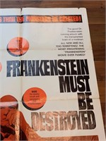 """1969 """"Frankenstein Must Be Destoryed"""""""