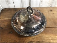 B Rogers Silver Plated Serving Dish