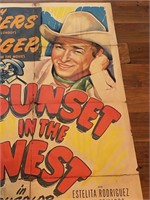 """""""Sunset in The West"""" Republic Pictures"""