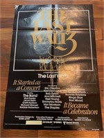 "1978 ""The Last Waltz"" United Artist"