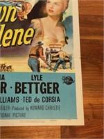 "1956 ""Showdown at Abilene"" Universal"