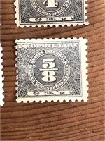 Selection Of United States Pro Pritaty Stamps
