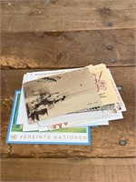 Selection Of Post Cards With Stamps