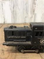 Lionel US Army Train Engine