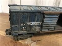Two Lionel Box Car Trains