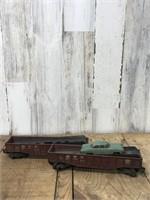 Two Lionel Car Transport Trains With Lionels