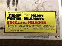 Six 1972 Buck And The Preacher Lobby