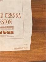 """1975 """"Breakheart Pass"""" United Artist"""