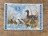 1961 Mallard Brood $3 Migratory Bird